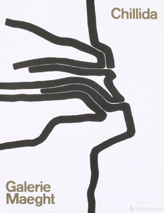 Eduardo Chillida Galerie Maeght Galerie Maeght Exhibition Poster Fine Arts Posters