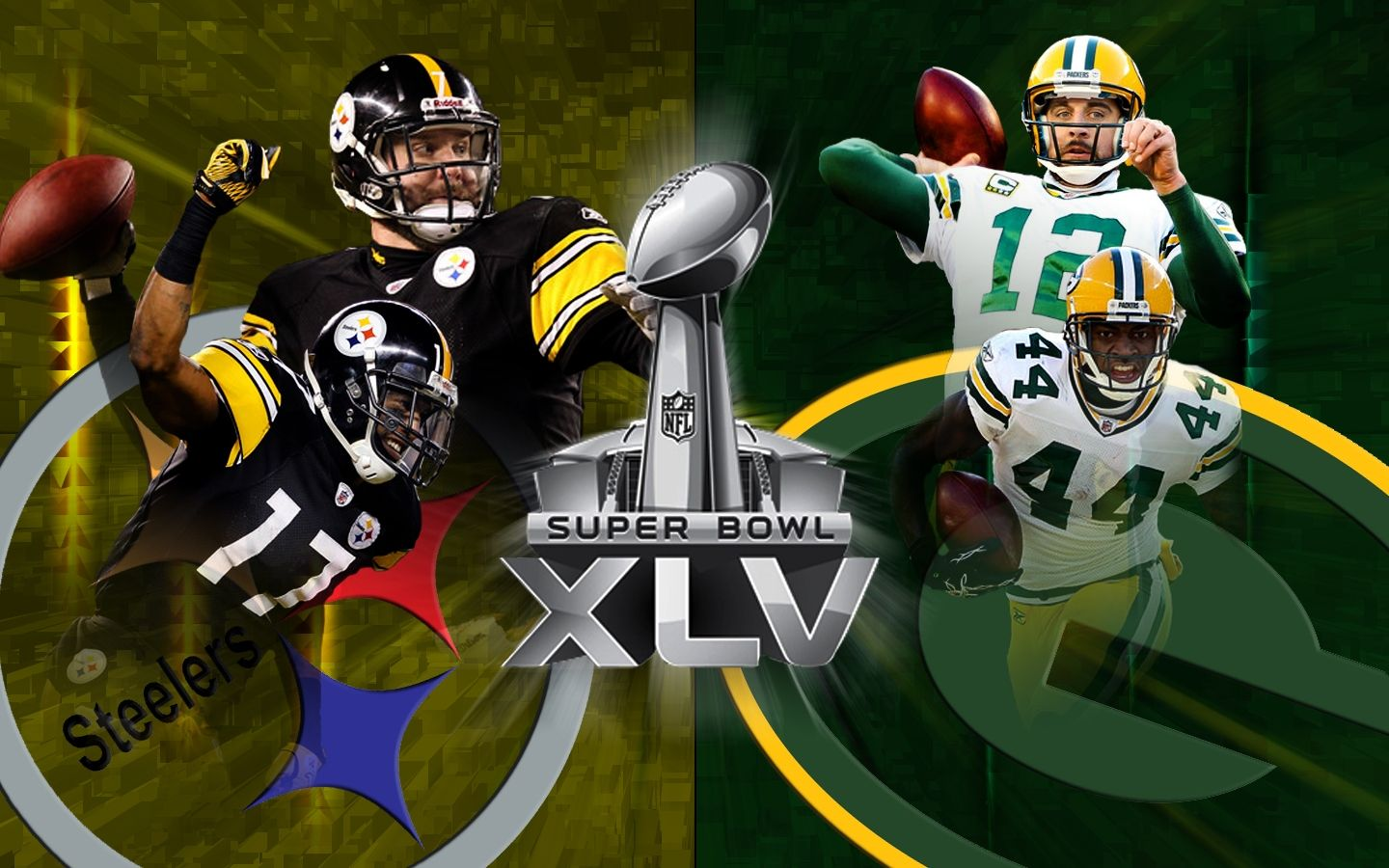 1440x900 Steelers Packers Wallpaper Download Superbowl Xlv Chicago Bears Super Bowl Steelers