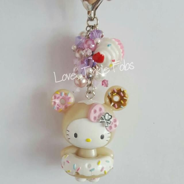 d4e02f3cec Tokidoki Donutella Hello Kitty Bag Charm Fob
