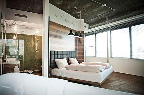Ideen Moderne Schlafzimmergestaltung Lamellenwand   queenlord ...
