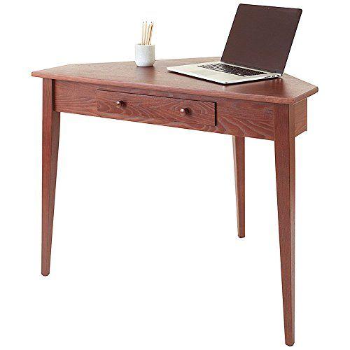 Manchester Wood Shaker Corner Desk Chestnut Desk Office Desk Best Home Office Desk