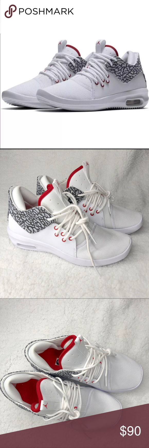 new concept e444e 7e313 Nike Air Jordan First Class White and Red NWOT, only have ...