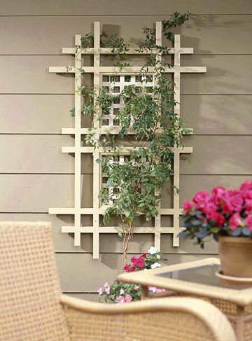 Great trellis for over the cabana bed. :)