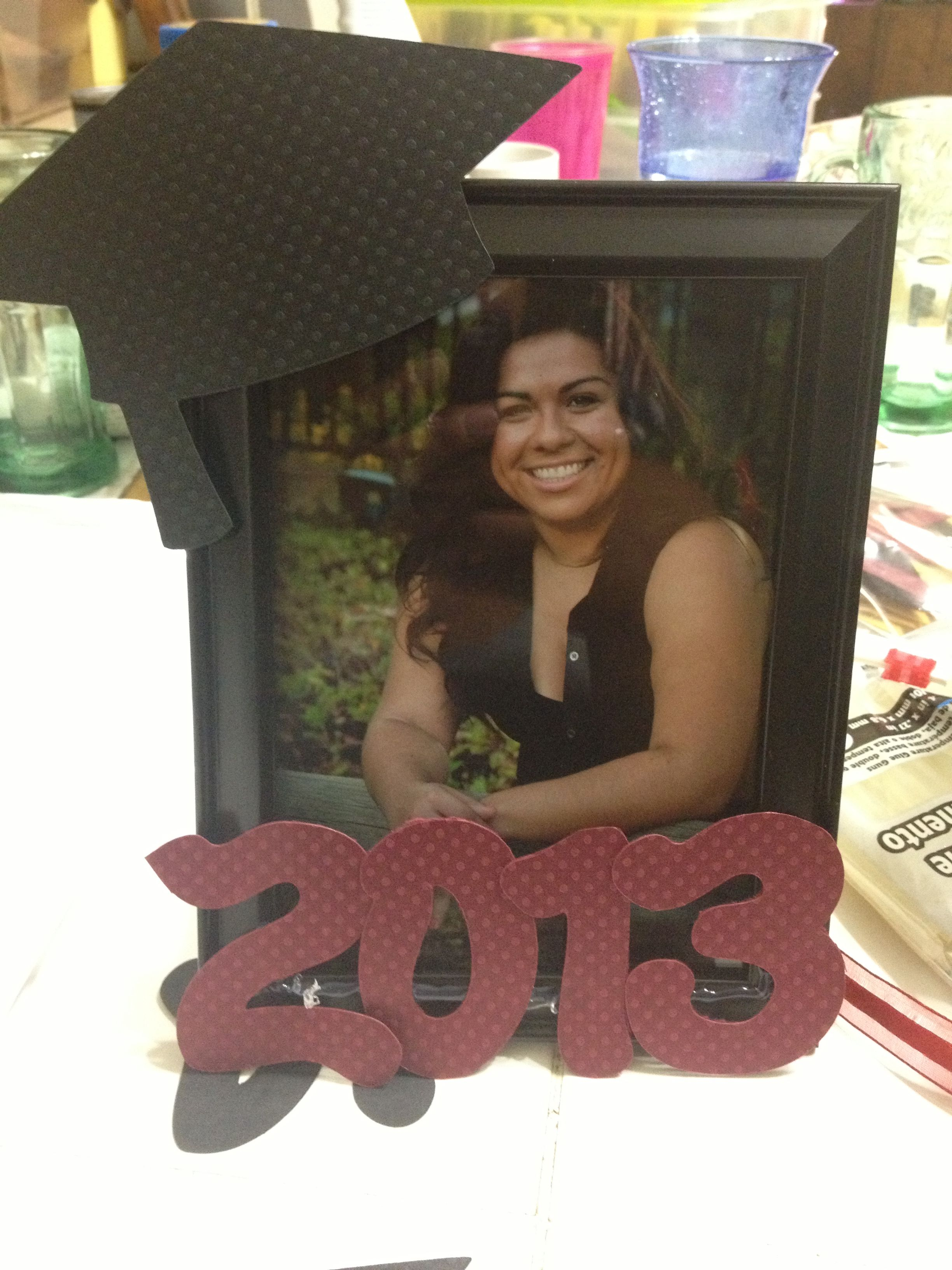 Graduation Frames 2020.Graduation Frame Made With Cricut Cutouts And Dollar Tree