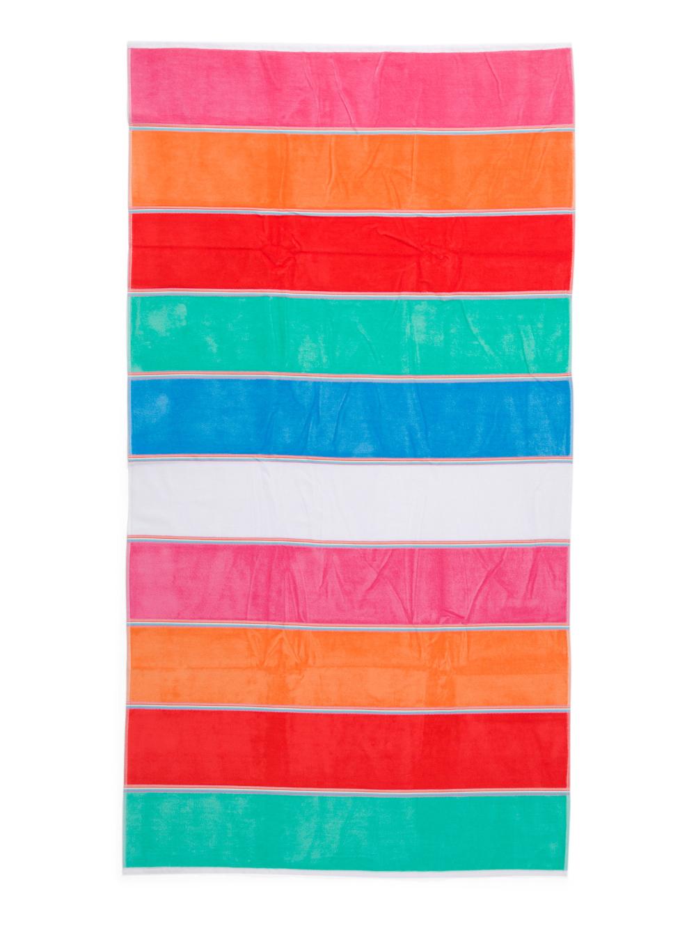 Stripe Beach Towel Bath T J Maxx Striped Beach Towel Beach Towel Towel