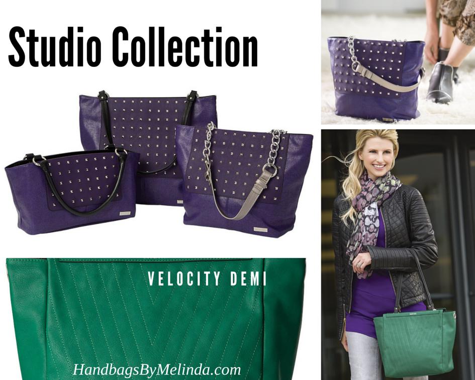 The Miche Studio Collection And Velocity Demi Are Two Hot Colors For Fall Handbags Emerald Purple