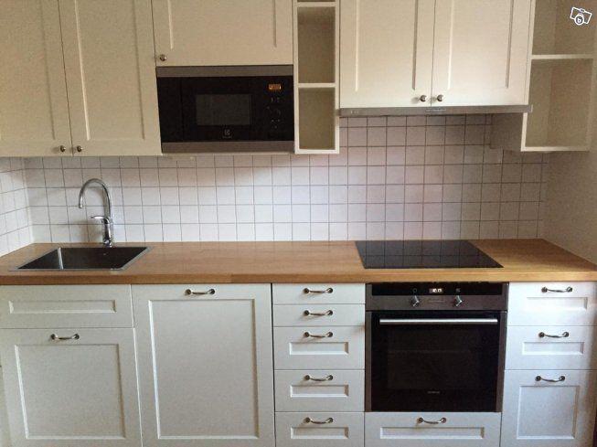 Helt Kök Samt Ett Platsbyggd Serveringsskåp Säljes På Grund Av Renovering Mått För Kök