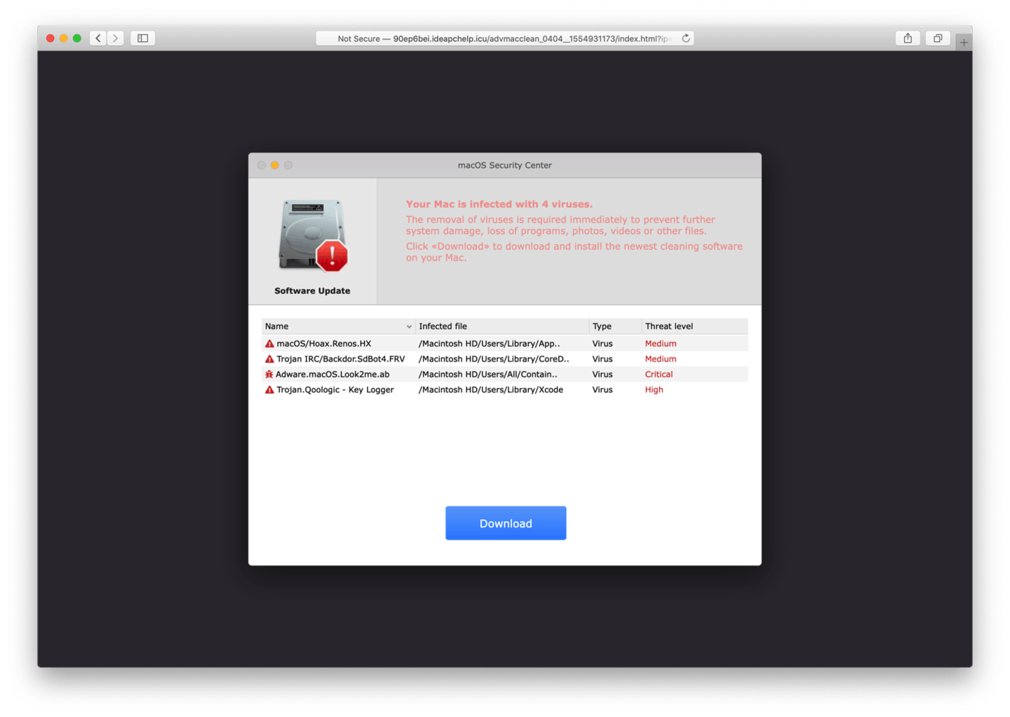 This page contains instructions on how to remove Your Mac