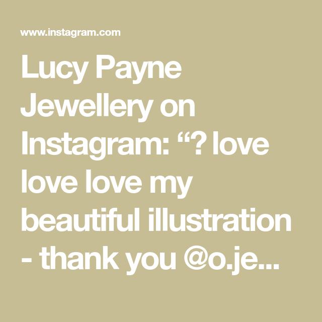 "Lucy Payne Jewellery on Instagram: ""🌿 love love love my beautiful illustration - thank you @o.jemillustration 🧡🌱 - -  #handmadeparade #makersmovement #handcrafted…"""