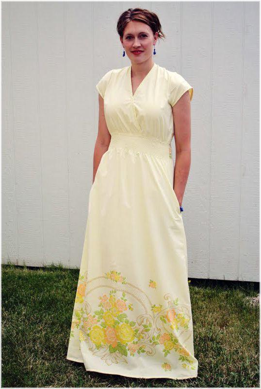 maxi dress sewing pattern plus size sewing