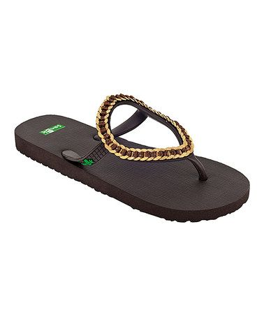 Take a look at this Brown Ibiza Kina Sandal - Women by Sanuk on #zulily today!