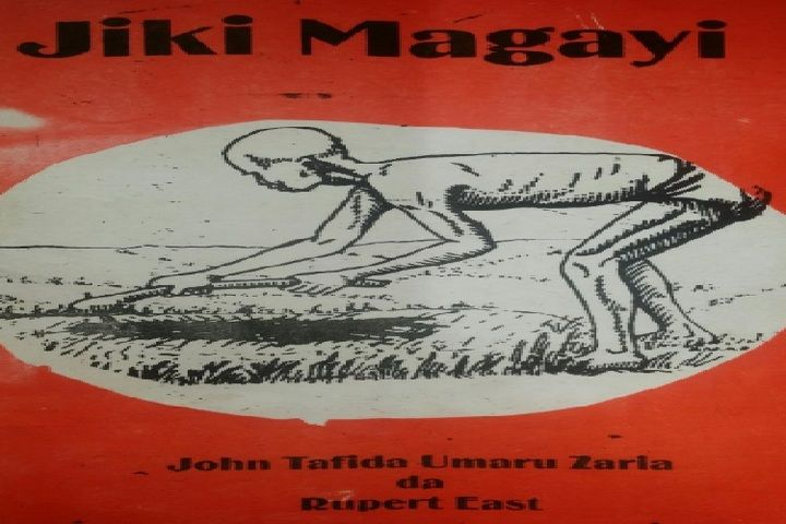 Littafin Jiki Magayi wanda John Tafida Umaru Zaria ya rubuta sannan kamfanin buga litattafai na
