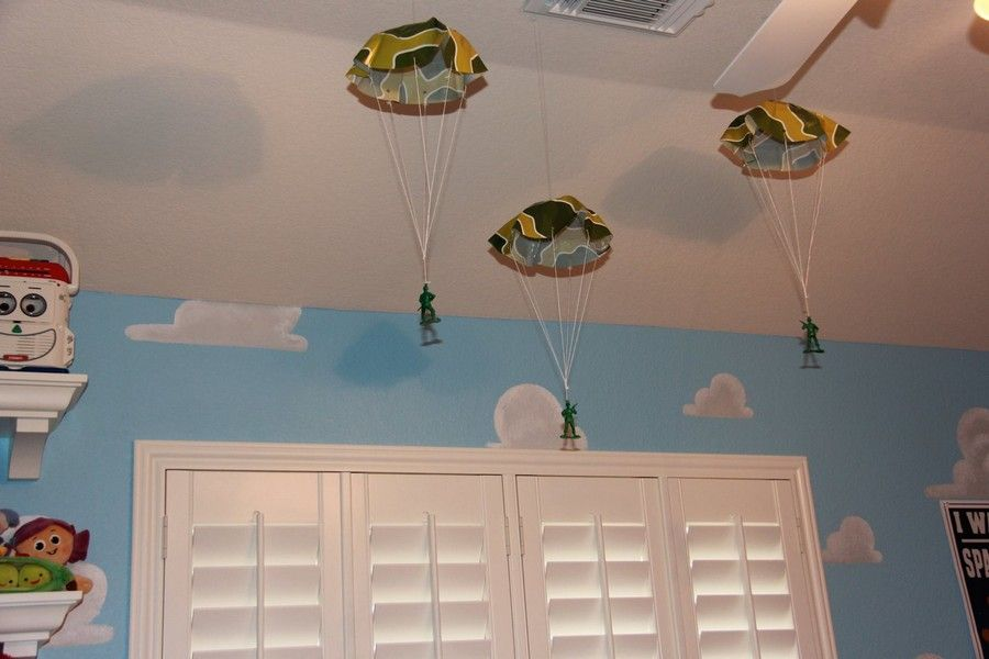 Mom Recreates Andy S Room For Her Twins Toy Story Room Toy Story Bedroom Toy Story Nursery