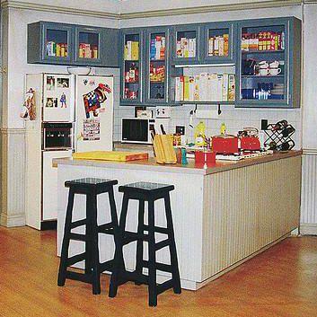 Seinfeld Kitchen Tv Set Classic Tv In Kitchen Retro Ads Tv Sets
