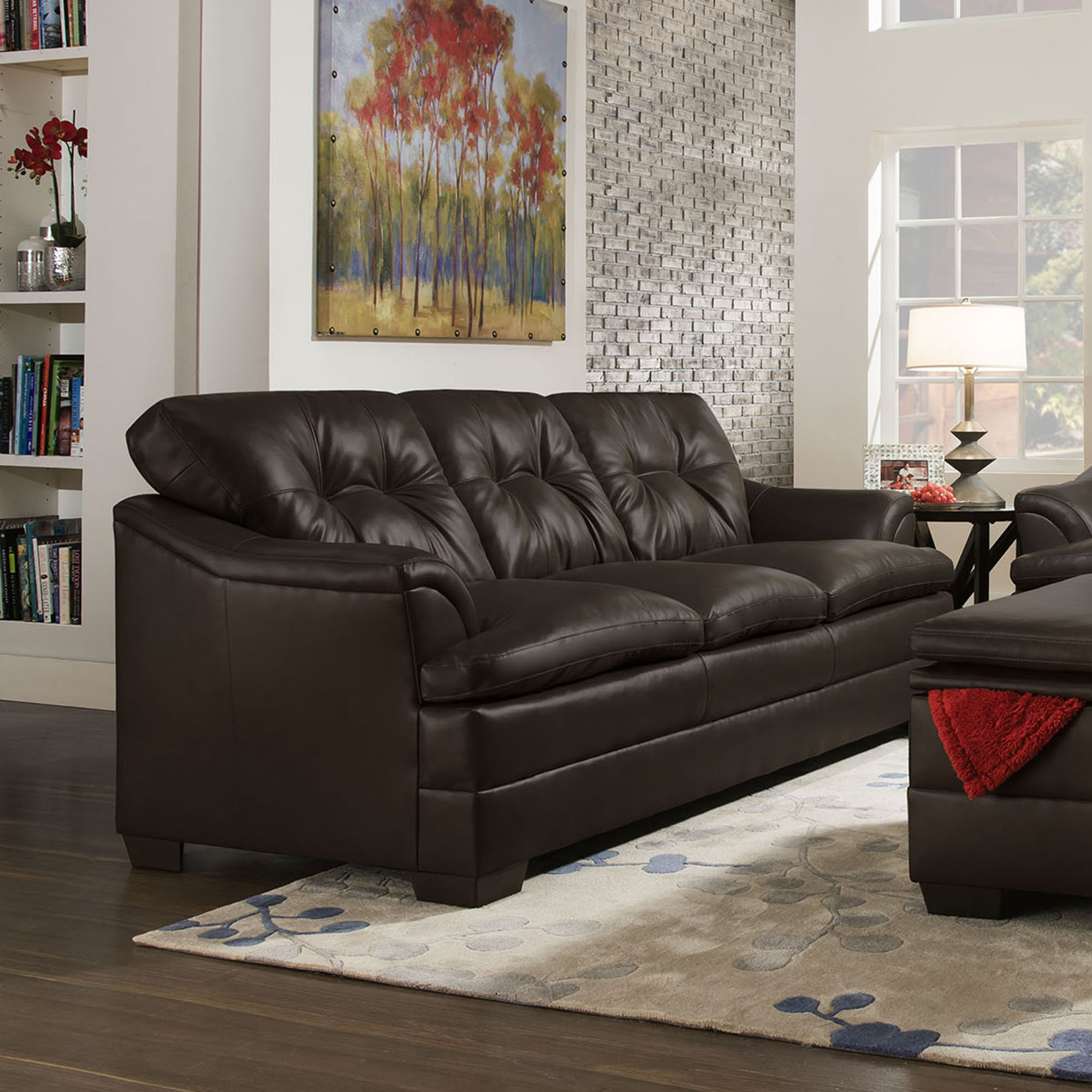 Best Apollo Sofa In Espresso Simmons Upholstery And Casegoods 400 x 300