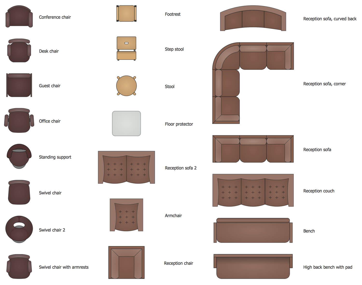 Design Elements Office Chairs And Sofas Building Plans