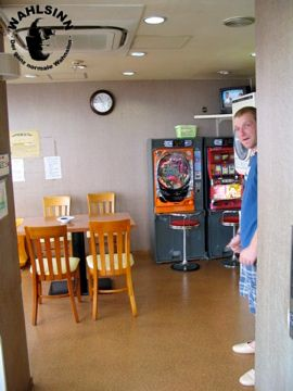 Japan // Tokio - Asakusa Kapsel Hostel: Der Aufenthalsraum