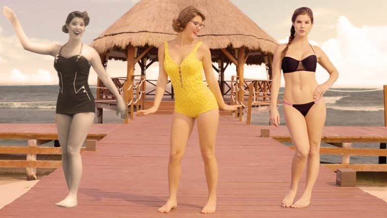 The evolution of Bikini from 1890 to 2015