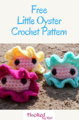 Little Oyster #crochetanimals