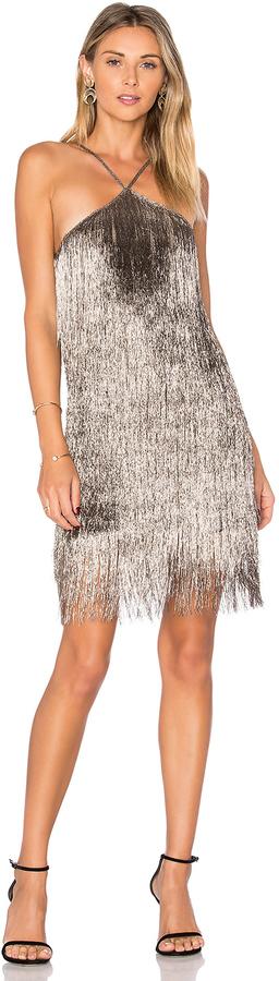 RACHEL ZOE Pierce Mini Dress