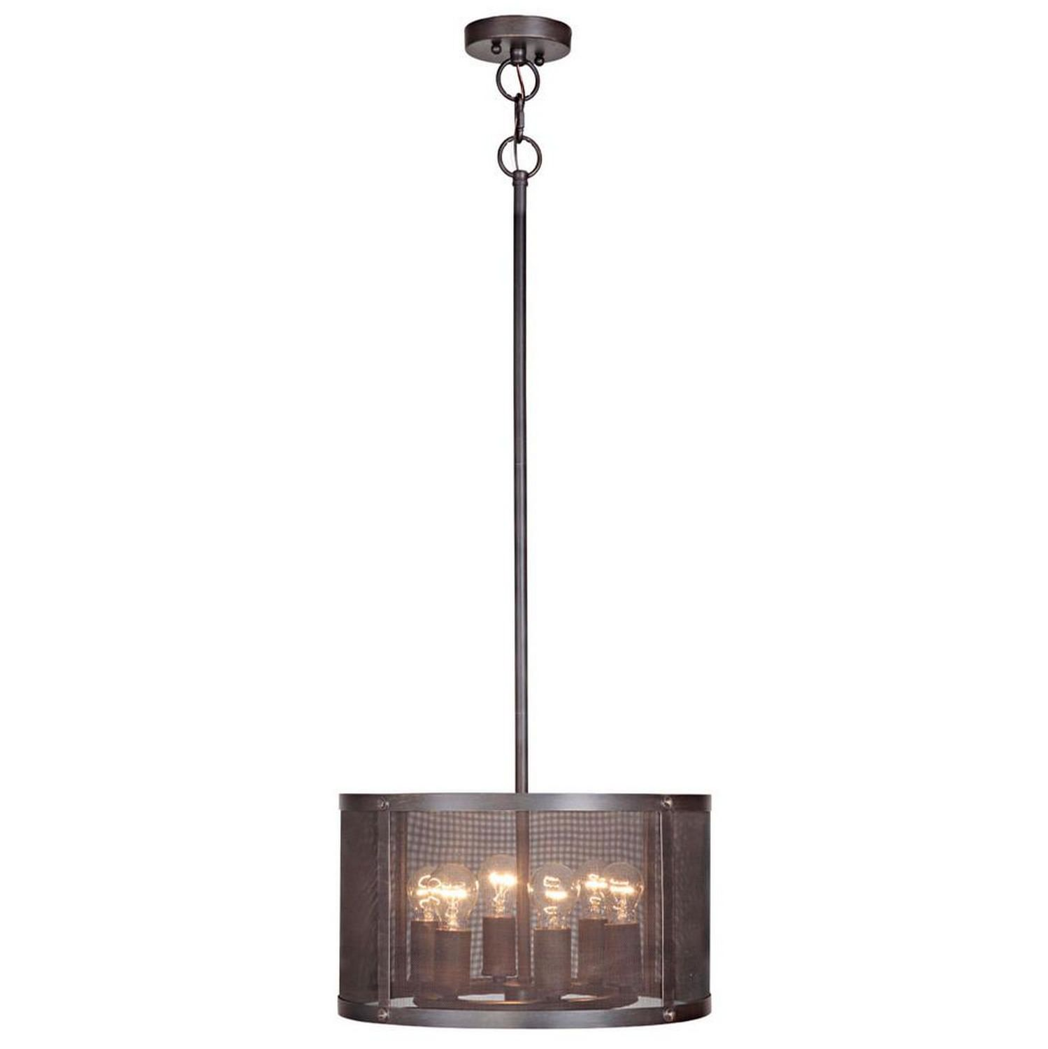 This Six Light Pendant gives you the option to do an over-sized pendant over the island or to be the chandelier over a table.