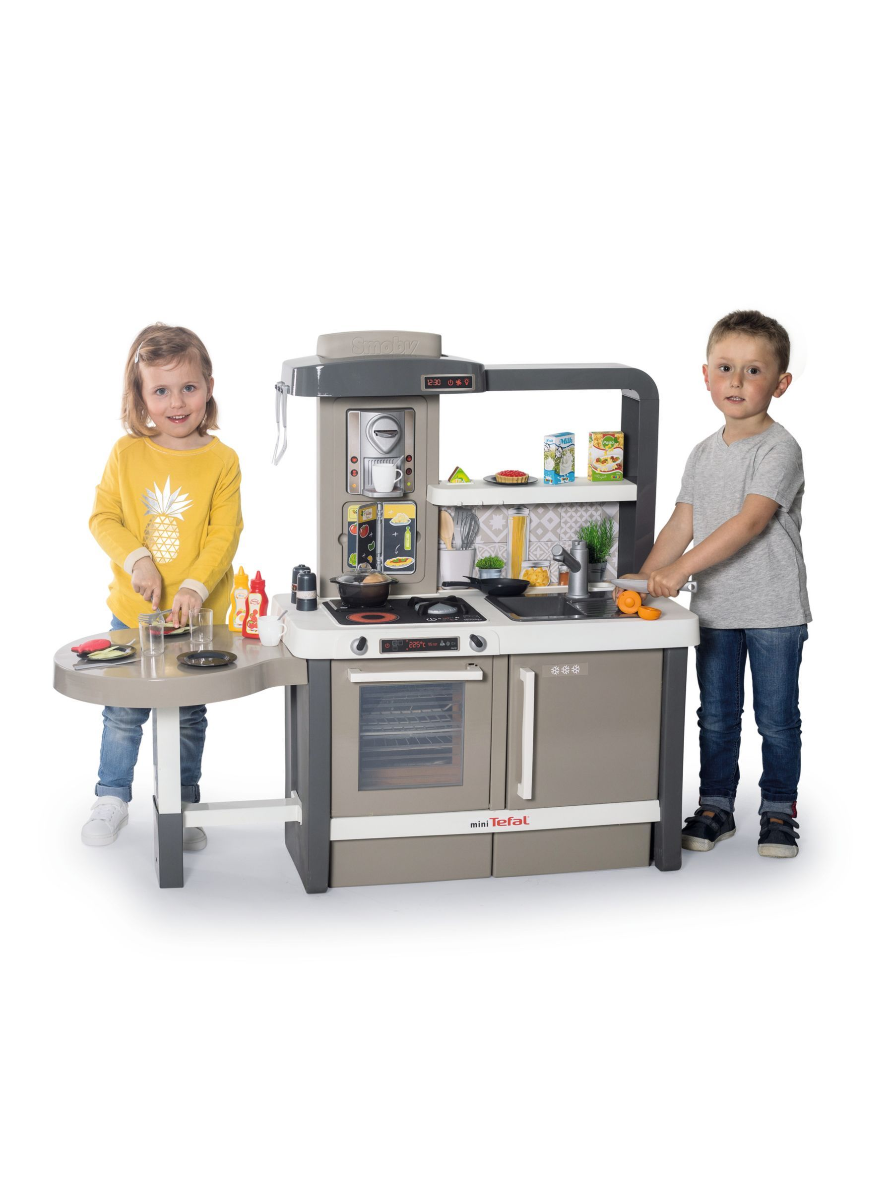 Smoby Tefal Evolving Kitchen Kitchen Countertops Baseboards