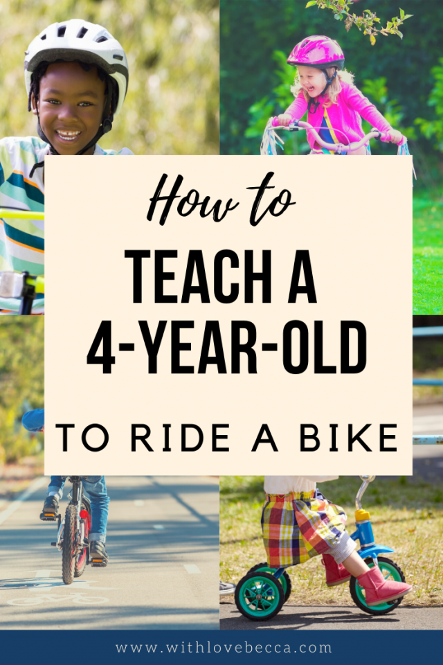 How To Teach A 4 Year Old To Ride A Bike When You Re Terrible At