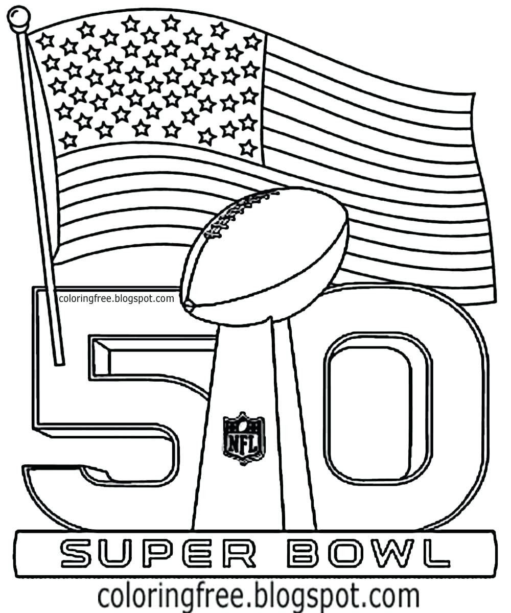 Super Bowl 50 Coloring Page Super Bowl Football Logo Nfl Coloring Pages In 2020 Football Coloring Pages Super Bowl Football Broncos Colors