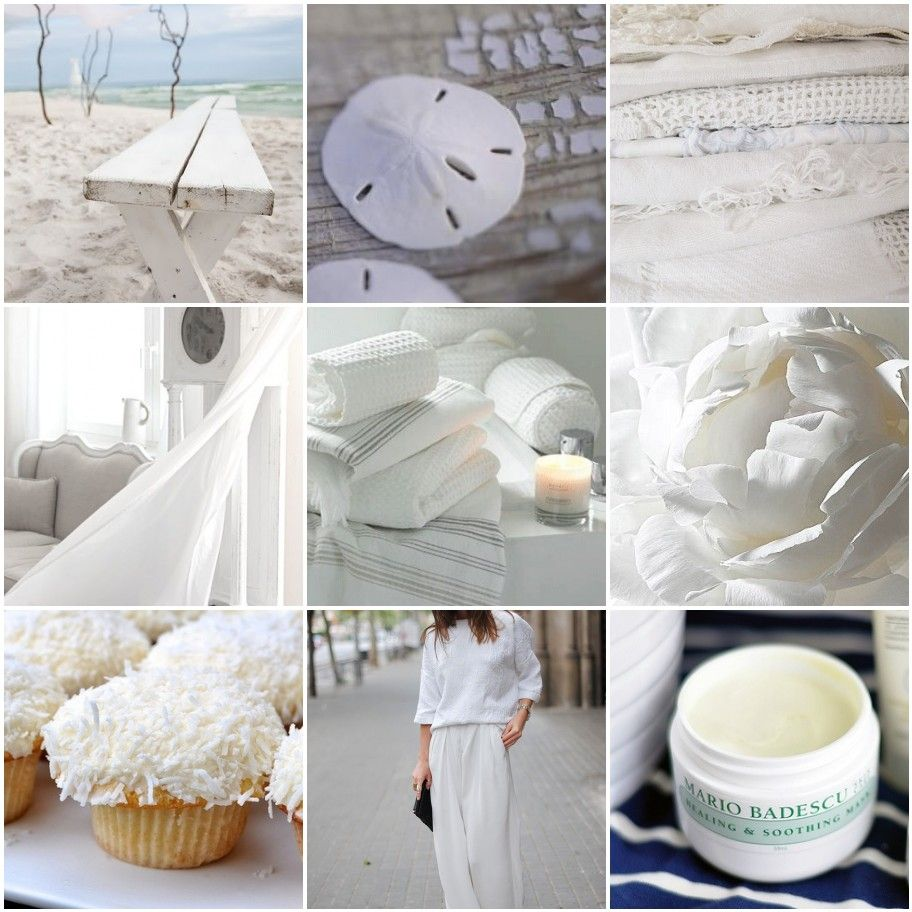 Gorgeous after-Labor Day whites!