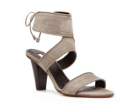 9a94e0d55391 Calvin Klein Collection Kenna Suede Ankle Strap Sandal Women s Dress  Sandals All Women s Sandals Sandal Shop - DSW