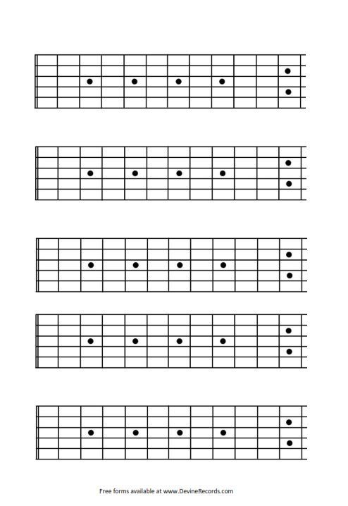 blank guitar fretboard 12 fret httpwwwdevinerecords