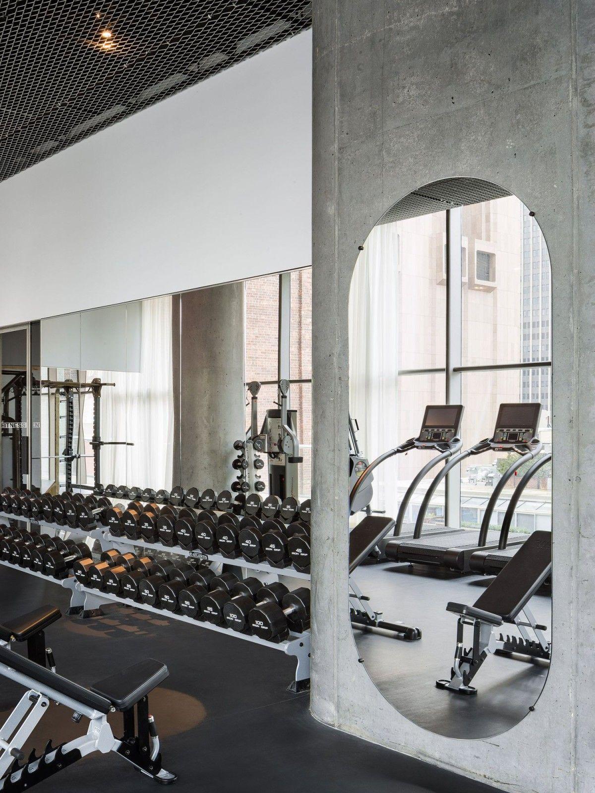 Herzog de meuron leonard new york gym in gym