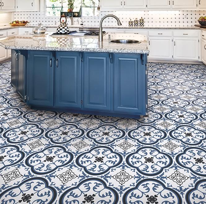 Ivc Floors Kahlo 574 Flexitec Arterra Kitchen Flooring Options Blue Living Room Decor Apartment Decor Inspiration