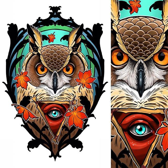 Tattoo Designs Up For Grabs: New Design Up For Grabs #tattoo #tattoos #owl #owltattoo