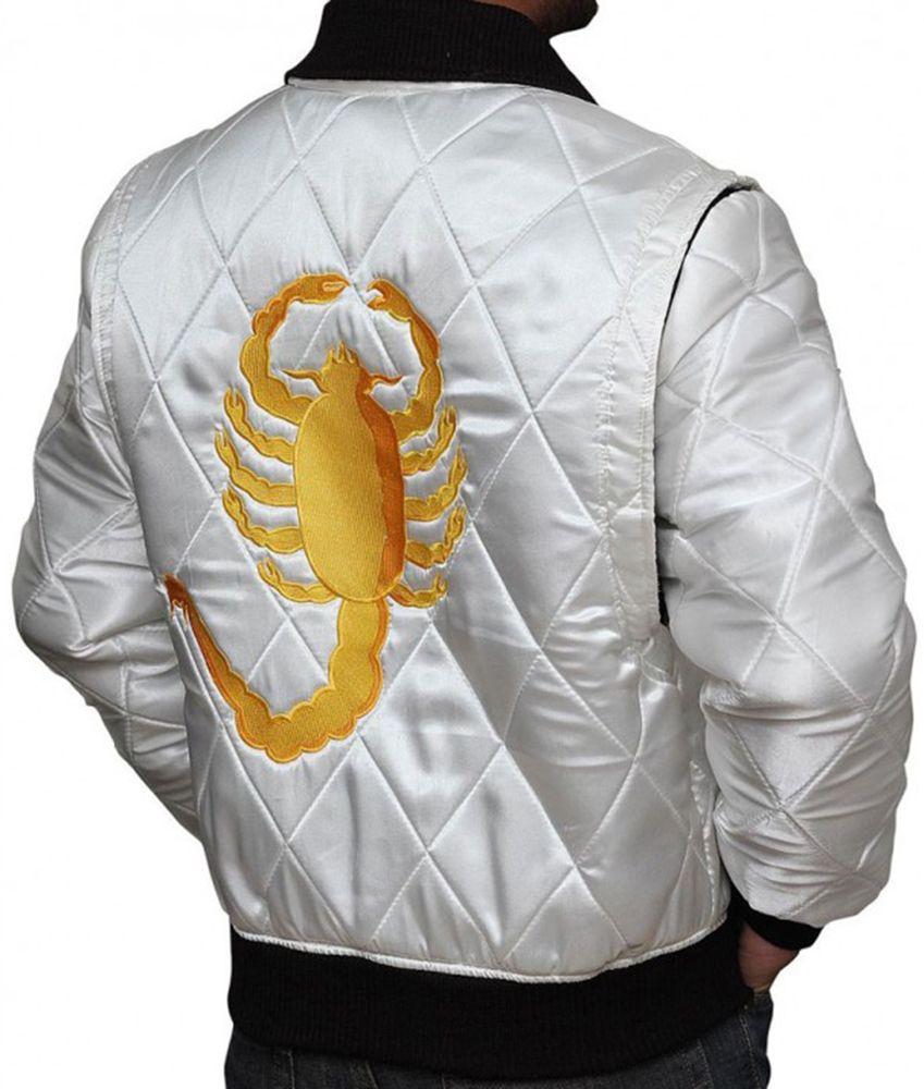 Drive Scorpion Jacket Amazon Satin Jackets Celebrity Jackets Brown Leather Bomber Jacket [ 1000 x 849 Pixel ]
