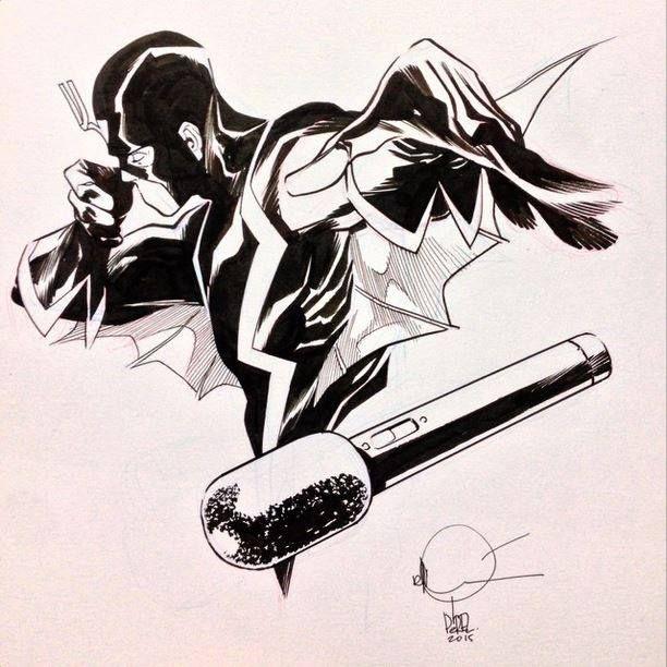 Black bolt ramon perez black bolt art comics love, love your enemies coloring page