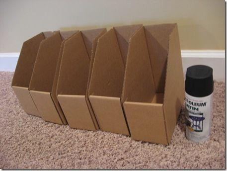 Cardboard Magazine Holders Inspiration Quick Easy Decoupage Decoupage Pinterest Magazine Holders
