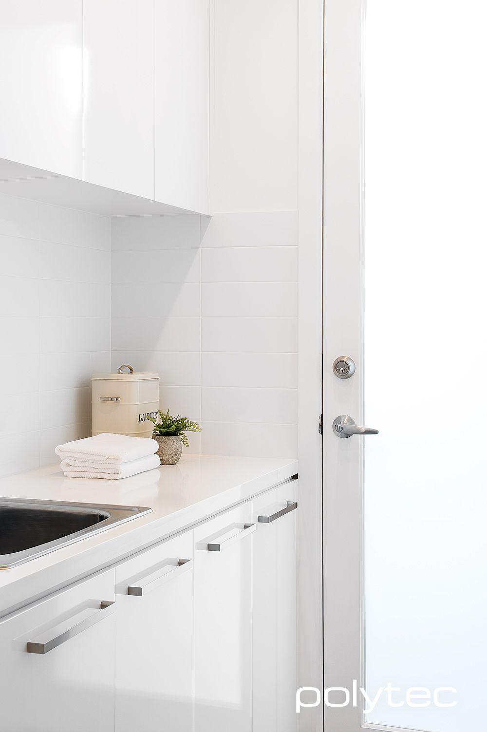 Doors in MELAMINE Classic White Sheen. | dine | Pinterest | Classic ...