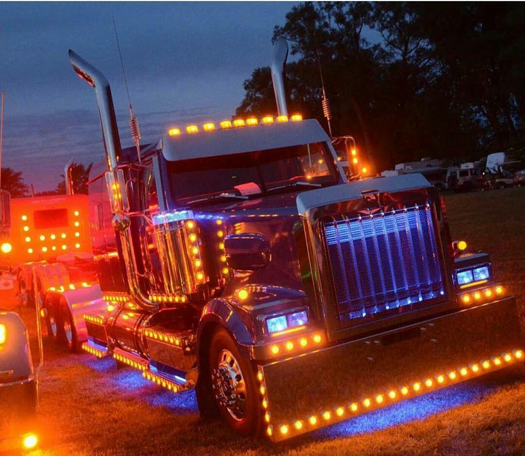 Western Star Custom Light Show Western Star Trucks Truck Lights