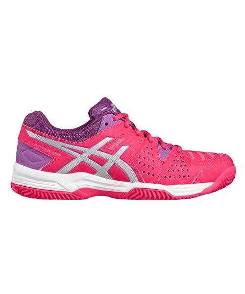 Asics GEL PADEL PRO 3 GS ROSA - Livraison Gratuite avec  - Chaussures Tennis Femme