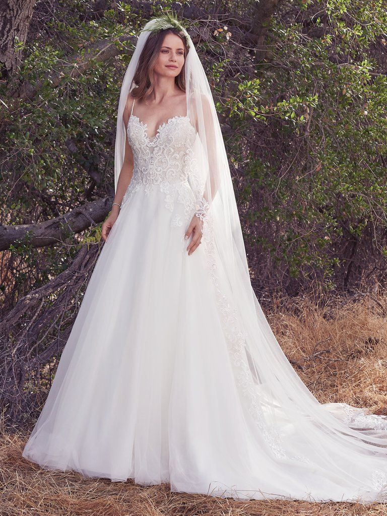 Maggie sottero wedding dresses maggie sottero morocco and lace veils