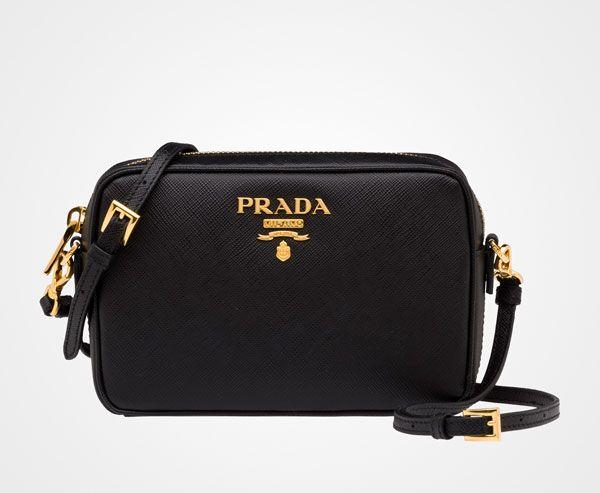 f9e2363609af Thumbnail 1 Logo Line, Leather Shoulder Bag, Leather Bag, Shoulder Strap,  Prada