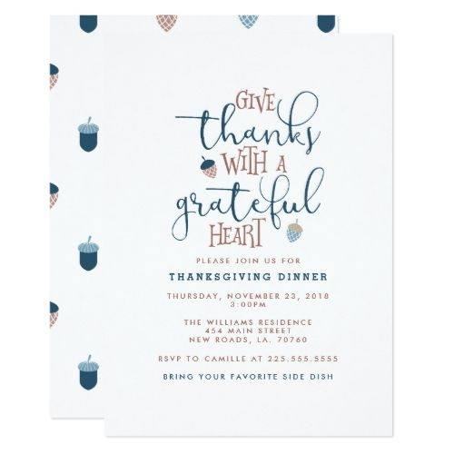 Give thanks thanksgiving dinner card thanksgiving and thanksgiving give thanks thanksgiving dinner card stopboris Image collections