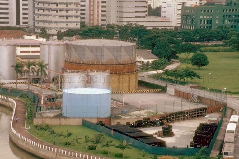 Kallang gas works singapore photos photographs and