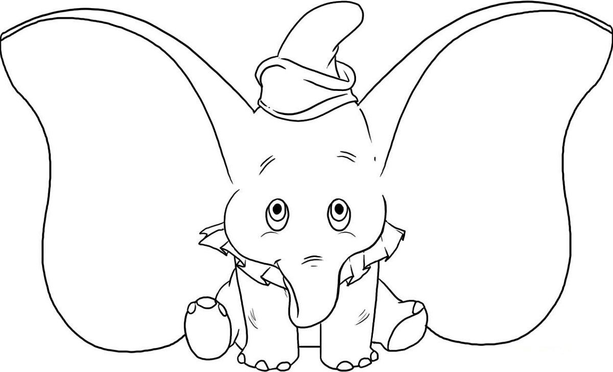 - Baby Elephant Coloring Pages For Kindergarten Elephant Coloring