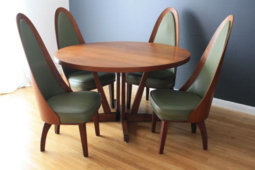 Midcentury Modern Finds Modern Dining Room Set Mid Century