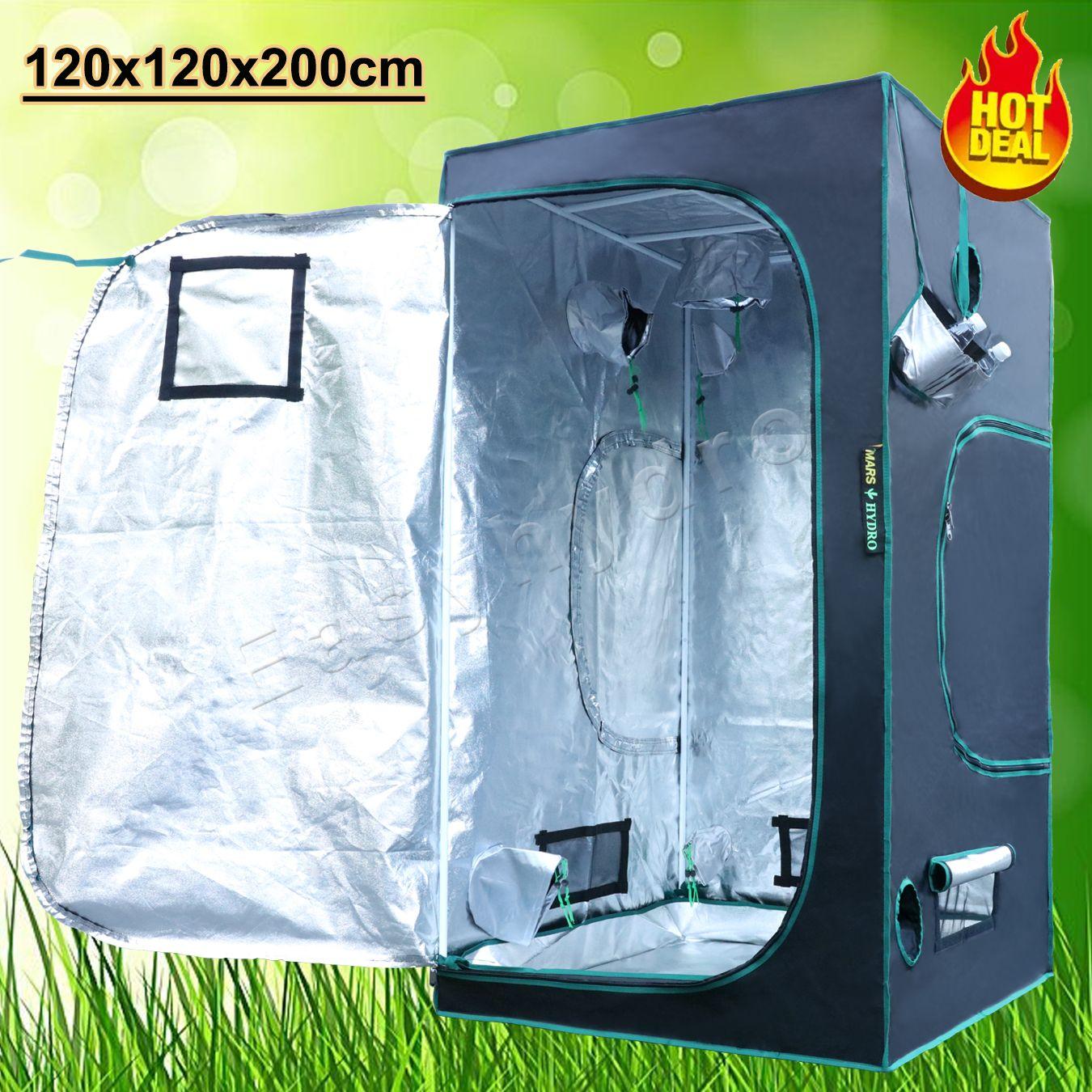 48 x48 x78  Grow Tent Reflective Mylar Indoor DarkRoom Growbox Non Toxic Cabinet & 48