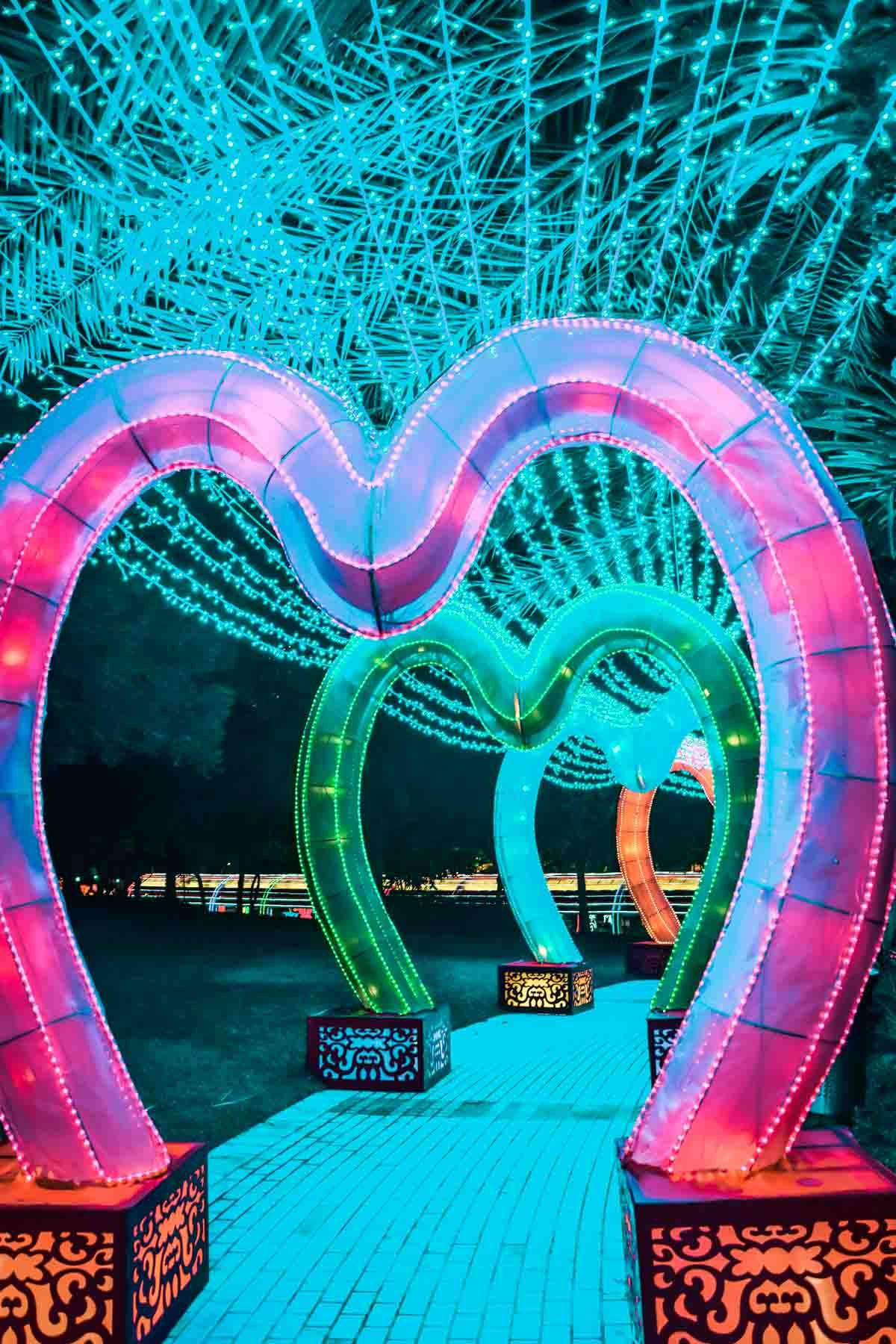 Dubai Garden Glow Best Place To Visit In Dubai At Night Cool Places To Visit Dubai Holidays Dubai Travel