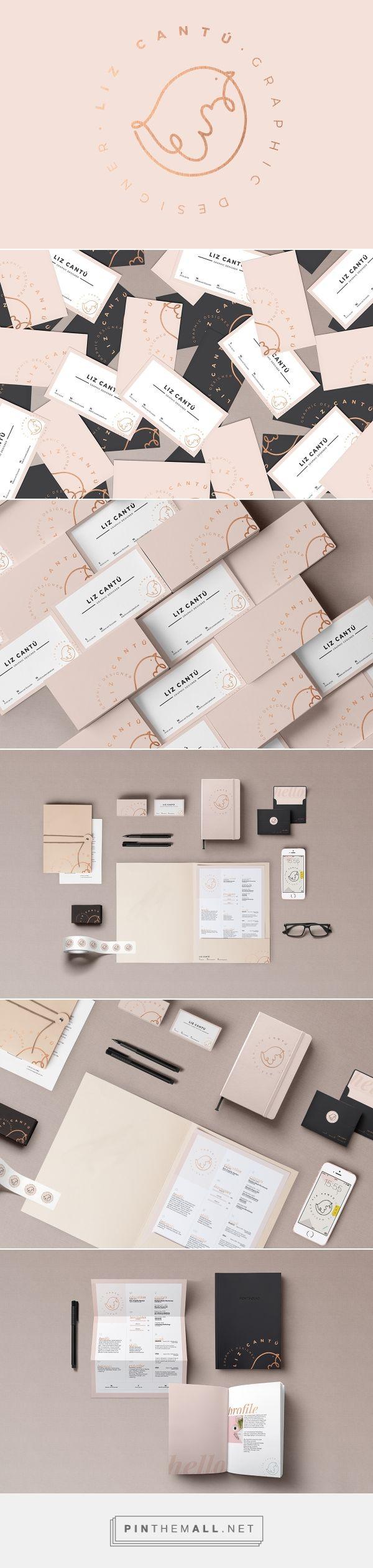 Lizzy Cantu Self Branding on Behance | Fivestar Branding – Design and Branding Agency & Inspiration Gallery