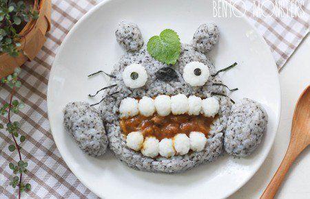 Inspirada em desenhos animados mãe cria adoráveis refeições para seus filhos